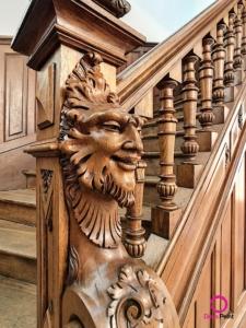 Escalier rénové par Deco Peint dans un copropriété