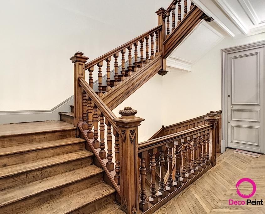 rénovation escalier bois à orléans