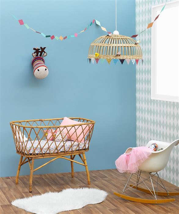 Peinture mur chambre bebe orleans