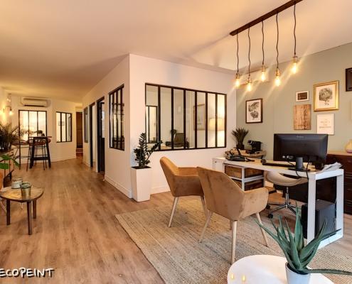 agence immobilière rénovée à Orléans par Deco Peint