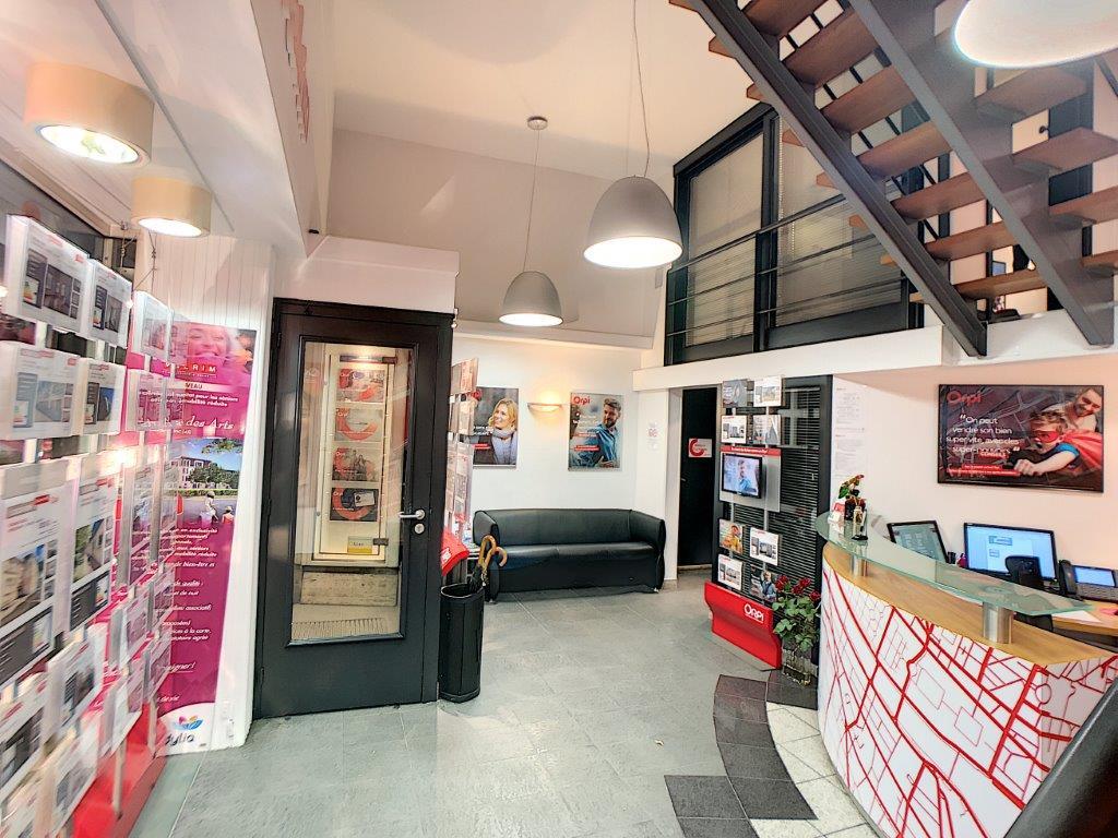 rénovation plafonds, sols et murs de l'agence Orpi Orléans