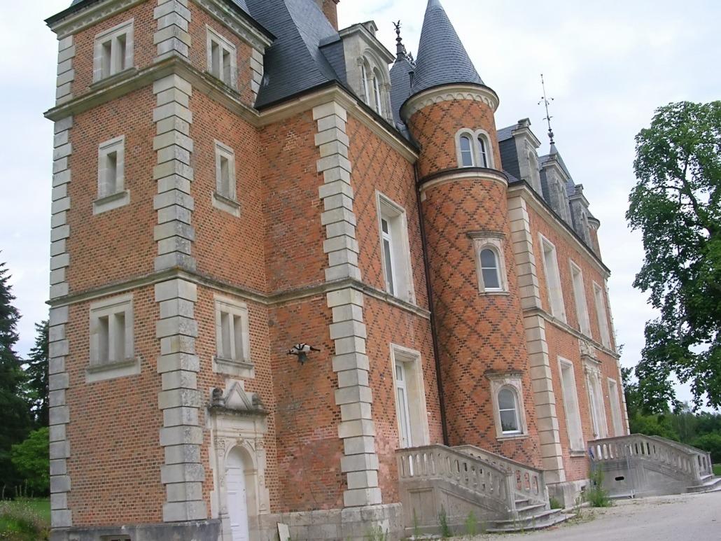 Château en Sologne rénové et décoré par Deco Peint
