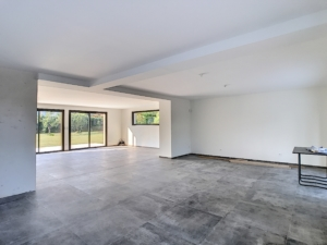 peinture plafonds en blanc maison neuve à Orléans