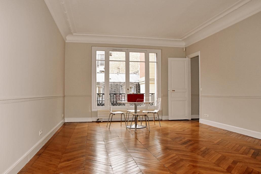 appartement rénové par Deco Peint à Paris