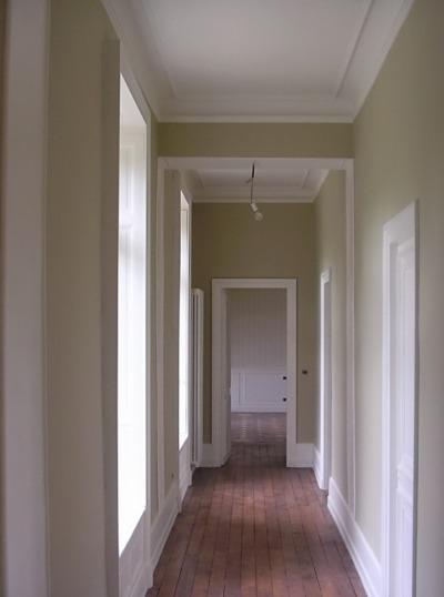 couloir d'un château en Sologne rénové par Deco Peint