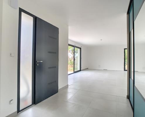 Entée maison neuve mise en peinture par Deco Peint