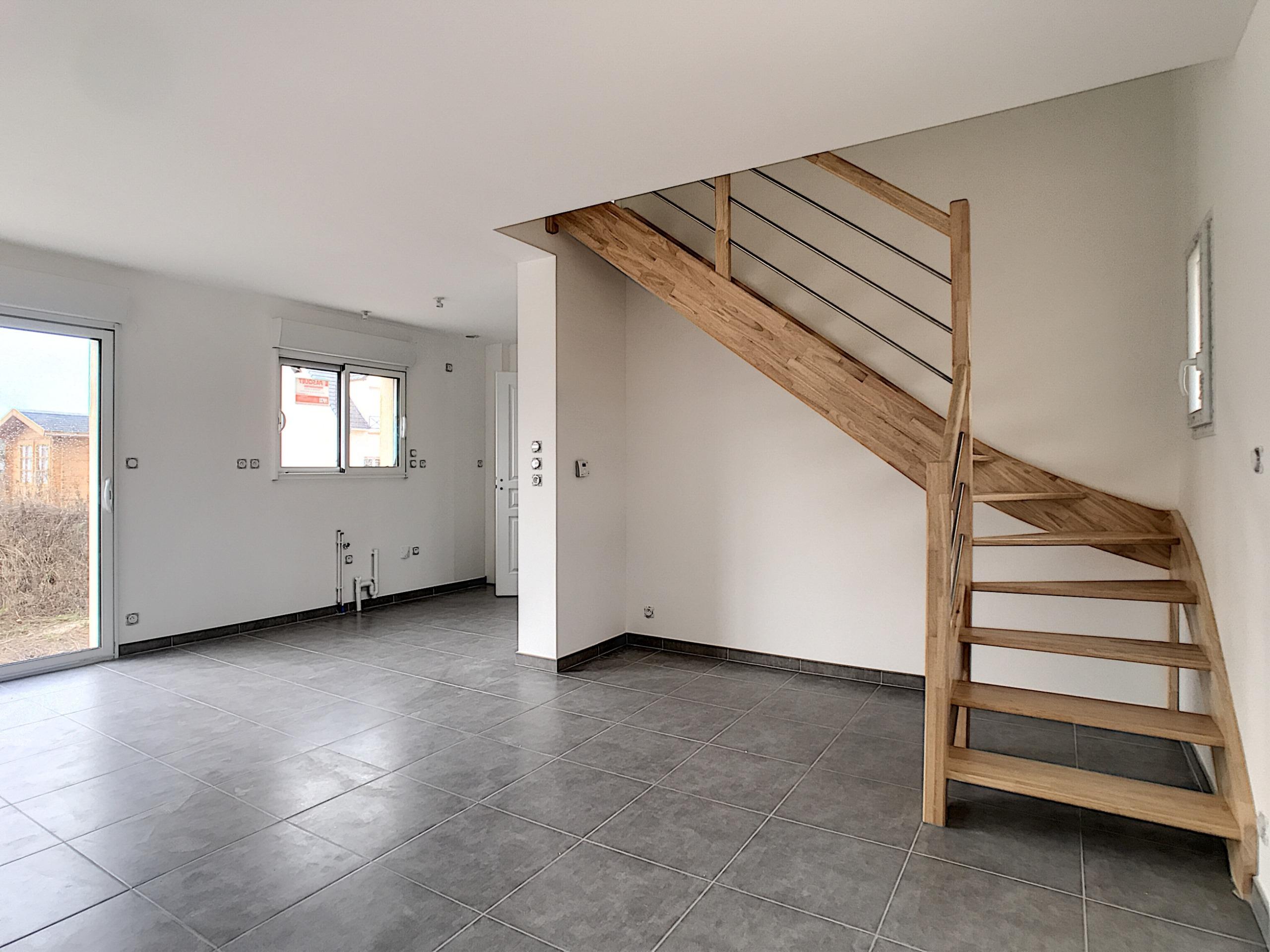 traitement et peinture escalier neuf en bois
